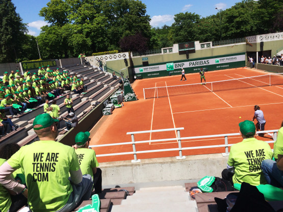 WE ARE TENNIS FAN ACADEMY – ROLAND GARROS 2015