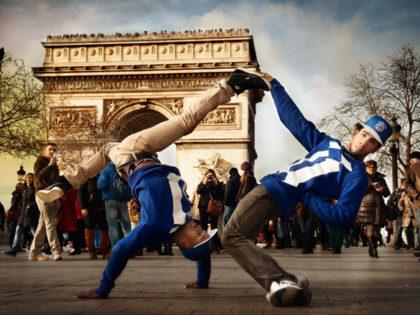 Duo Hip-Hop et Mât chinois