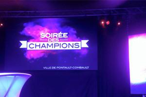 Remise des Trophées des champions à Pontault-Combault